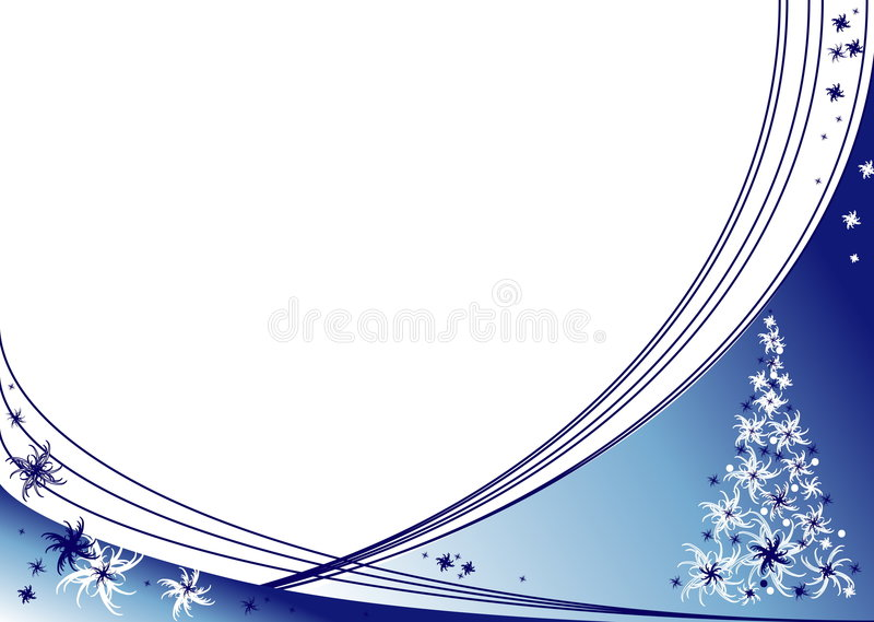 Fondos del invierno ilustración del vector