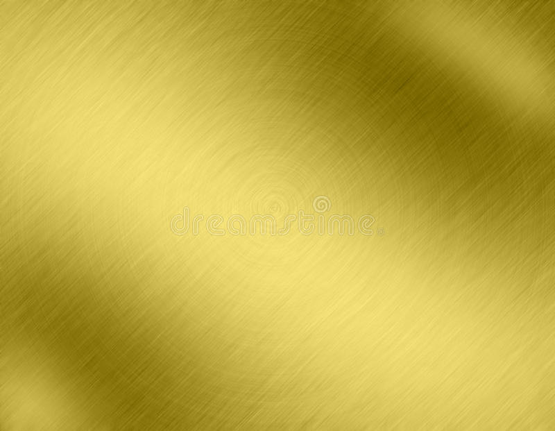 Fondos del metal del oro libre illustration