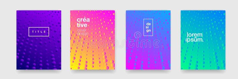 Fondos del modelo, textura colorida geométrica del extracto Fondos modernos del modelo de la pendiente del color del vector, arte ilustración del vector