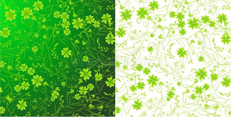 Fondos del St. Patrick ilustración del vector