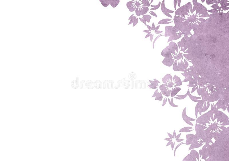 Fondos florales del estilo stock de ilustración