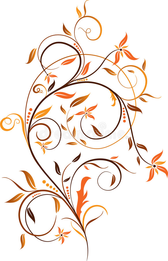 Fondos florales, vector libre illustration