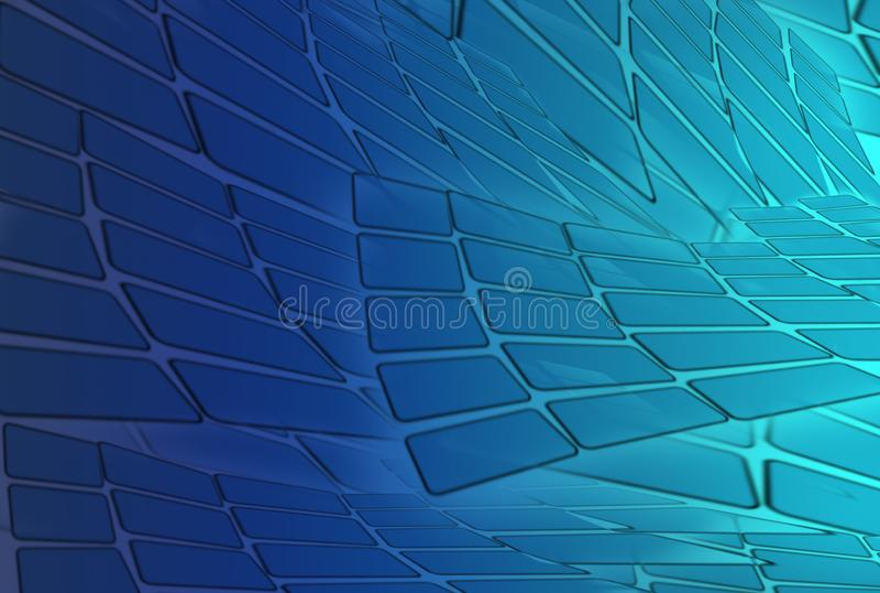 Fondos futuristas abstractos para el futuro y usados para la página web stock de ilustración