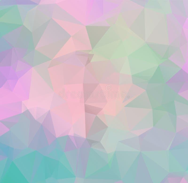 Fondos geométricos abstractos a todo color ilustración del vector