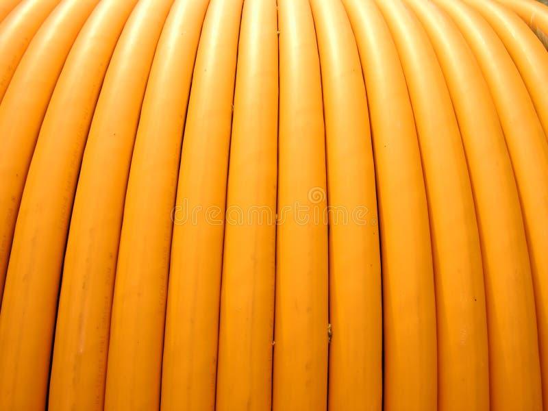 Fondos, primer, bobina de los alambres eléctricos fotografía de archivo libre de regalías