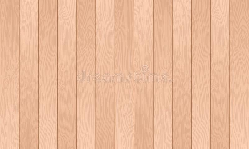 Fondos texturizados de madera, tablón de madera, líneas de color abstractas fondo con el modelo de madera superficial, ejemplo de ilustración del vector