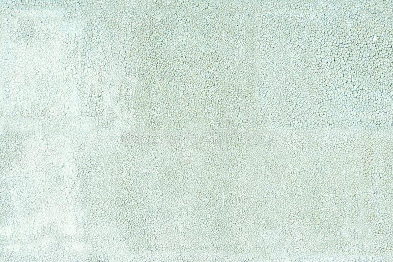 Fondos y concepto de las texturas Primer abrasivo del material de techumbre de la textura Fondo agrietado del verde del extracto  foto de archivo