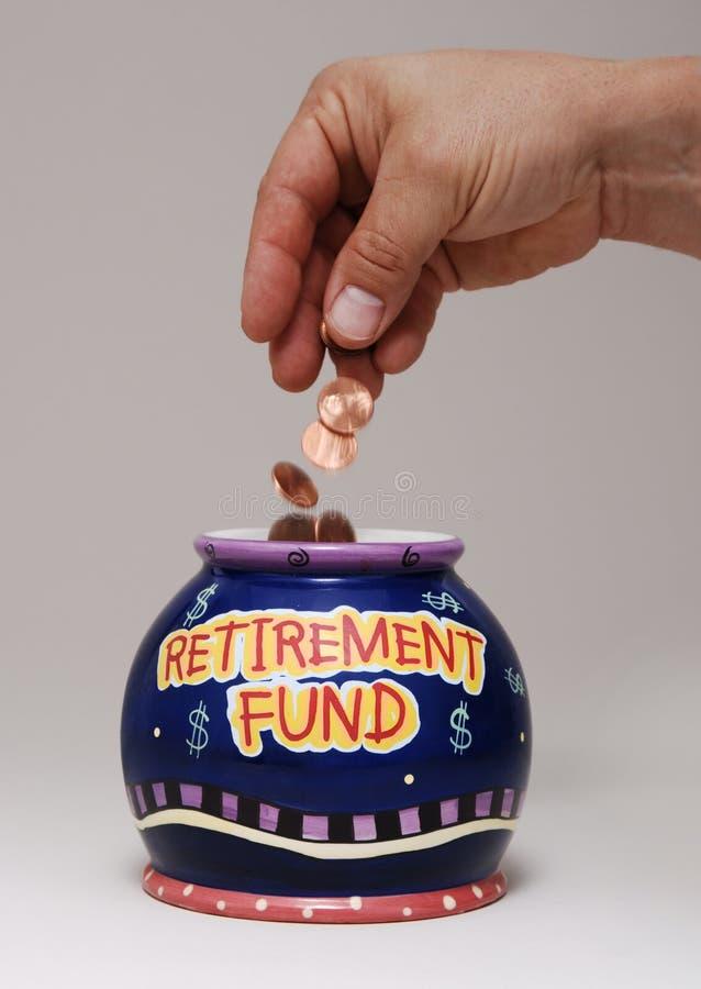 Fonds de retraite images stock