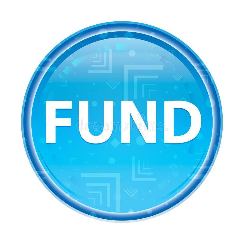Fondsen bloemen blauwe ronde knoop vector illustratie