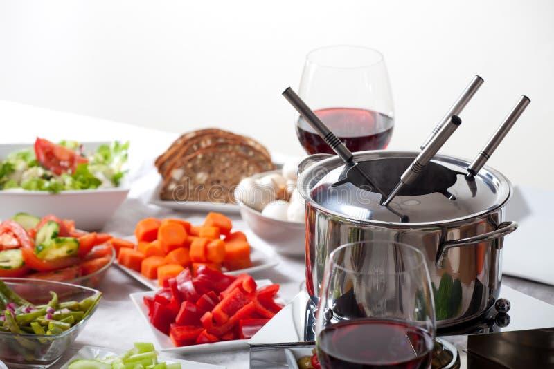 fondue στοκ φωτογραφίες