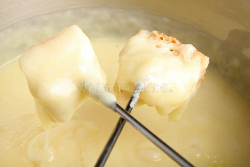 'fondue' de queso fotos de archivo libres de regalías