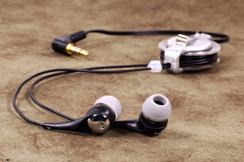 Fones de ouvido fotografia de stock