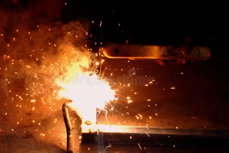 Fonkelende brand stock afbeeldingen