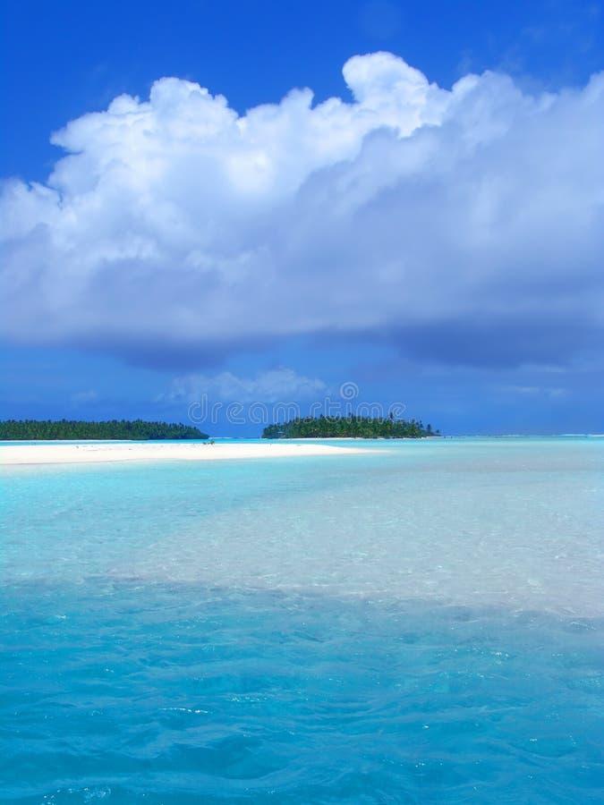 Fonkelende Lagune stock foto
