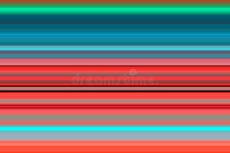 Fonkelende lijnen in rode fosforescerende tinten, textuur vector illustratie