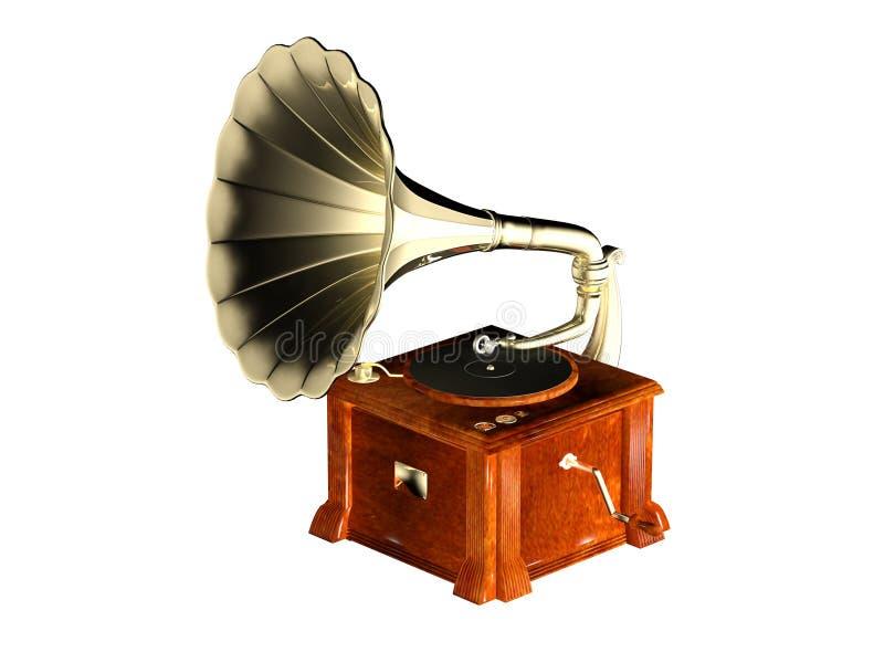 Fonograf zdjęcie stock