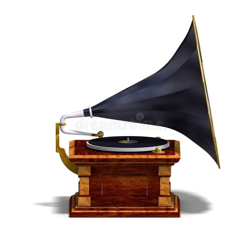 Fonografo royalty illustrazione gratis