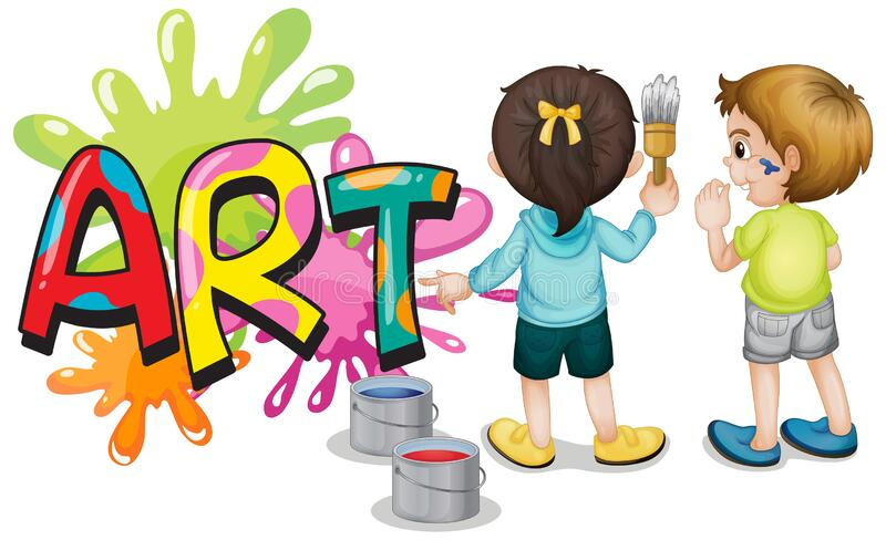 Kids Painting Stock Illustrations – 20,789 Kids Painting Stock  Illustrations, Vectors & Clipart - Dreamstime