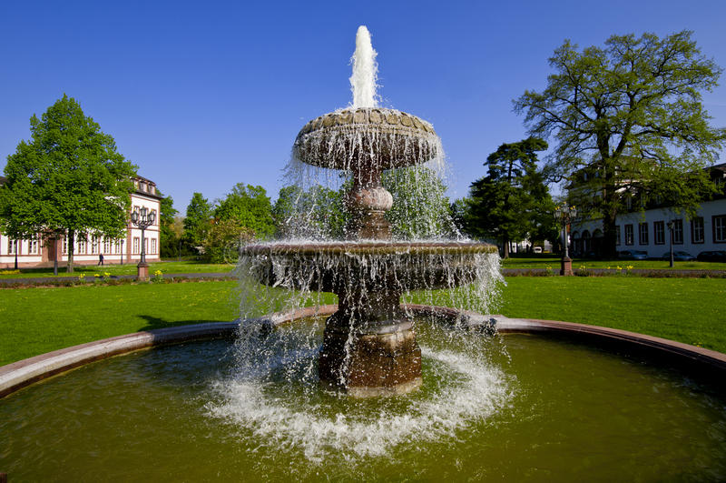Fontain park zdjęcie stock
