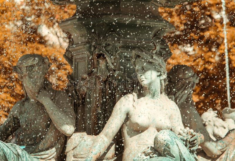 Fontaine à Lisbonne images libres de droits