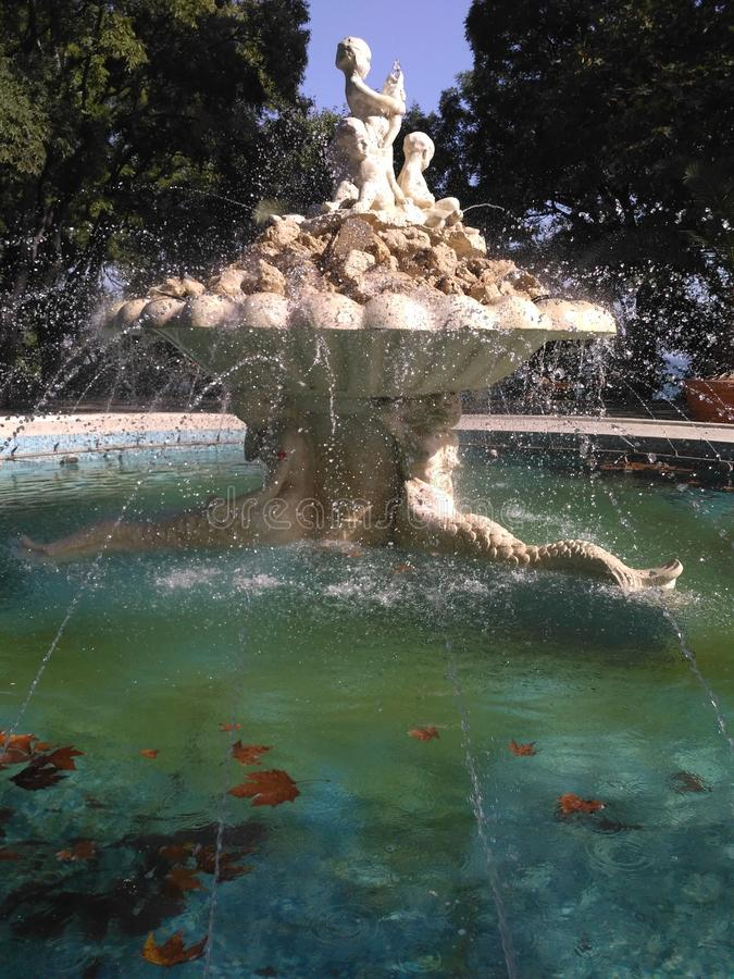 Fontaine à Varna image libre de droits