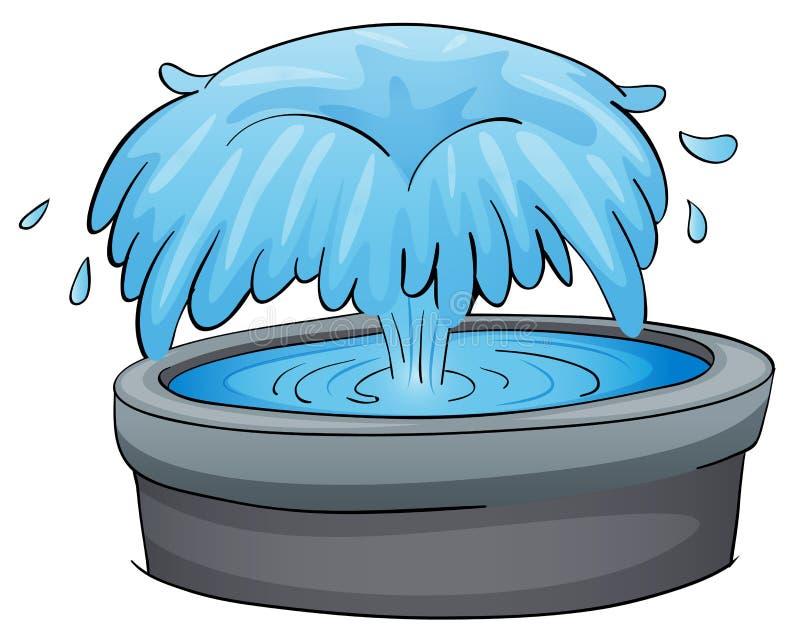 Fontaine illustration libre de droits
