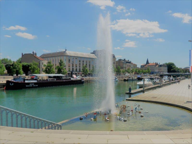 Fontaine arkivfoton