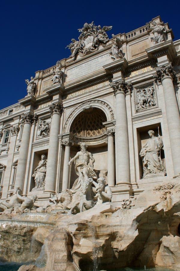 Fontaine célèbre de TREVI à Rome, Italie photographie stock