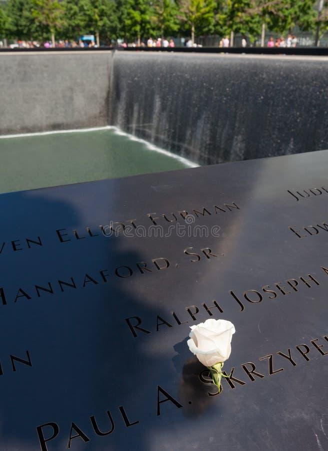 Fontaine commémorative aux victimes du 11 septembre, 200 images libres de droits