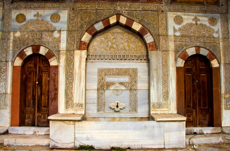 Fontaine d'Ahmed III images stock