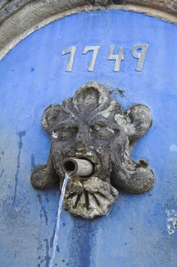 Download Fontaine dans Tiradentes image stock. Image du touristique - 739167