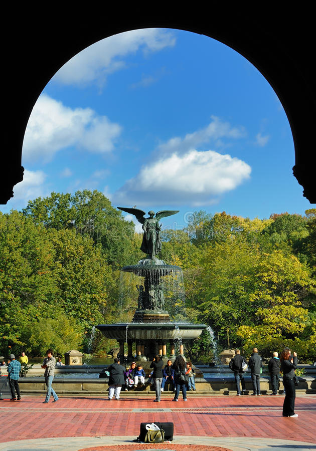 Fontaine de Central Park images stock