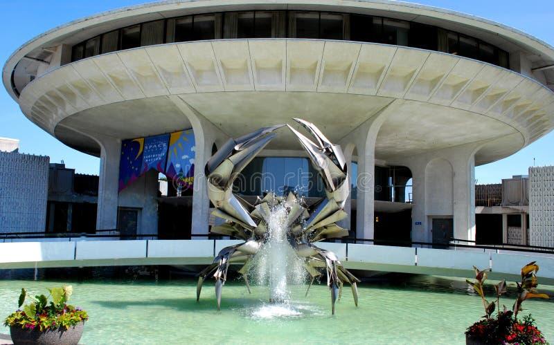 Fontaine de crabe photos stock