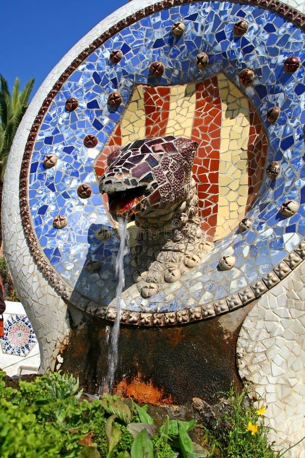 fontaine de dragon image libre de droits