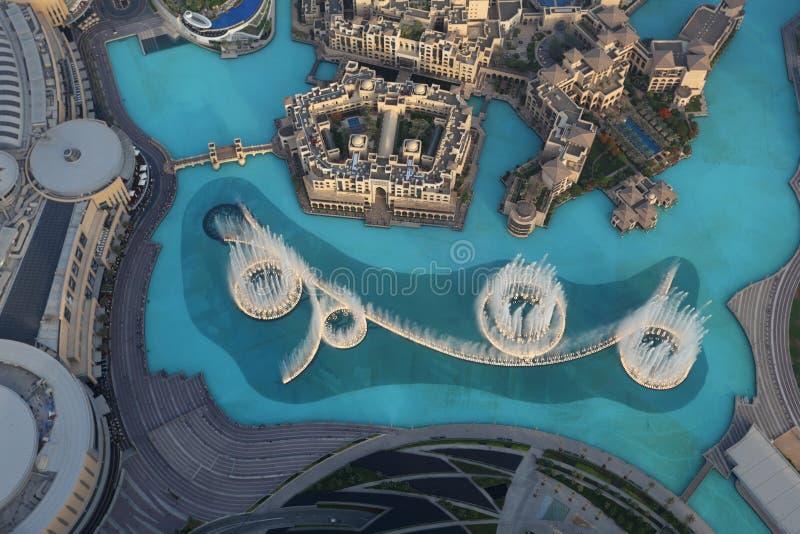 Fontaine de Dubaï images stock