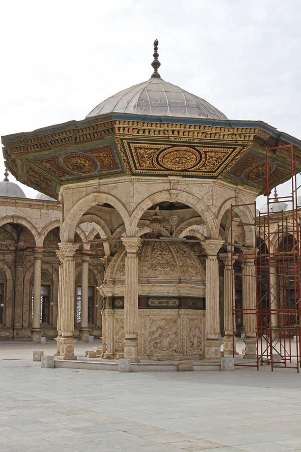 Fontaine de mosquée d'albâtre photos stock