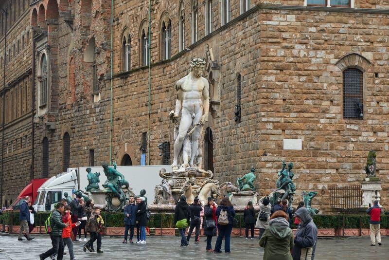 Fontaine de Neptune photo libre de droits