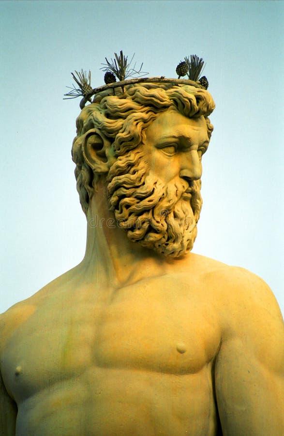 Fontaine de Neptune, Firenze, Italie image libre de droits
