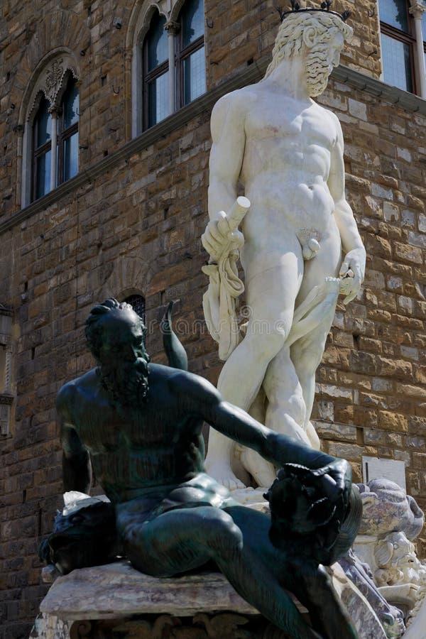 Fontaine de Neptune photo stock