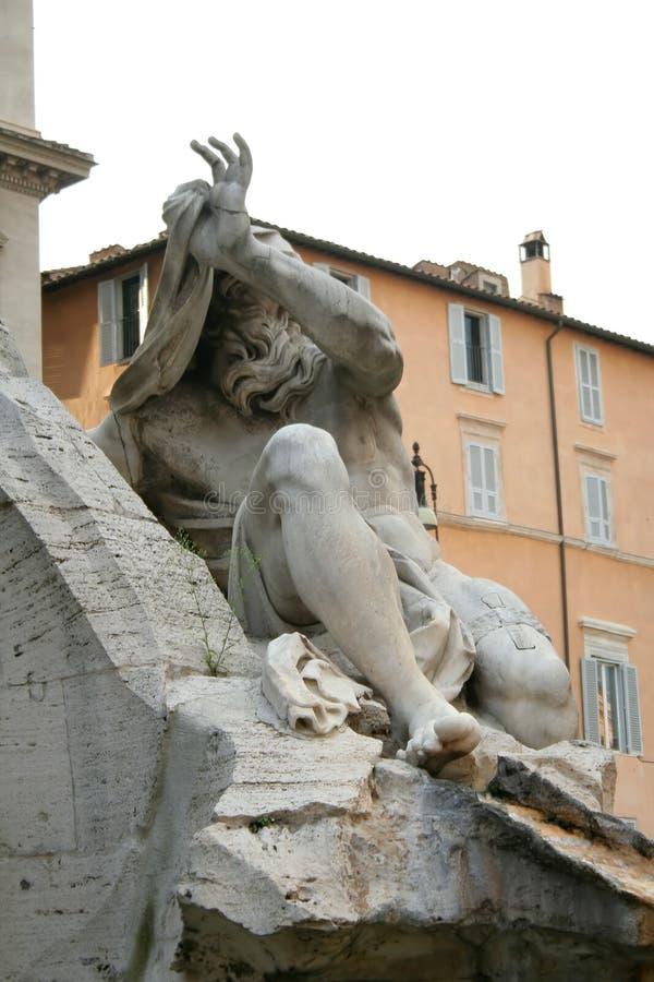 Fontaine de Piazza Navona, Rome photo stock