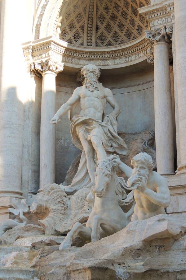 Fontaine de TREVI à Rome photo libre de droits