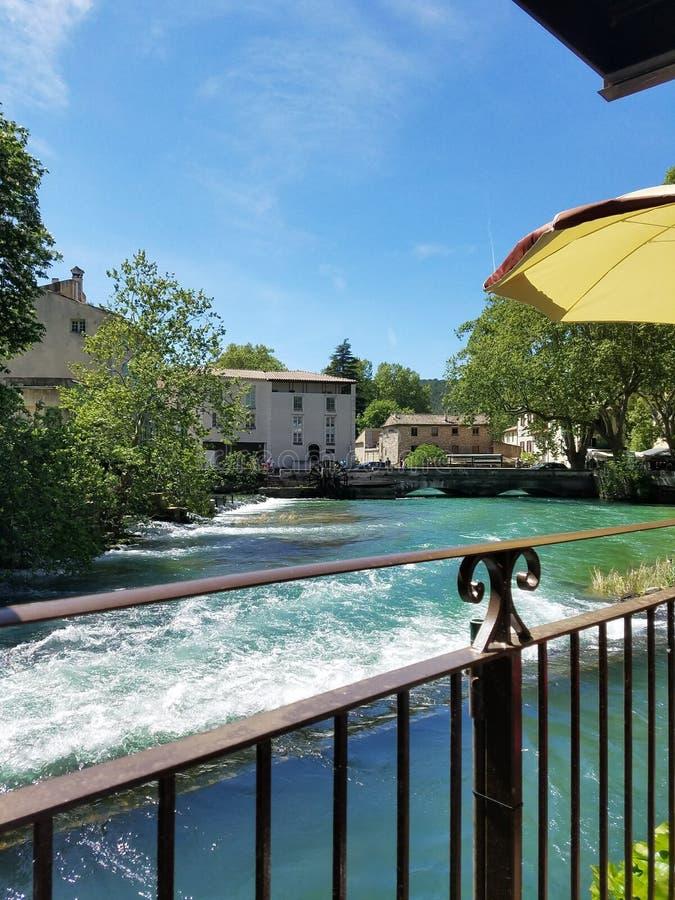 Fontaine de Valchiusa fotografie stock