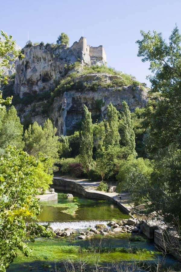 Fontaine de Vaucluse image libre de droits