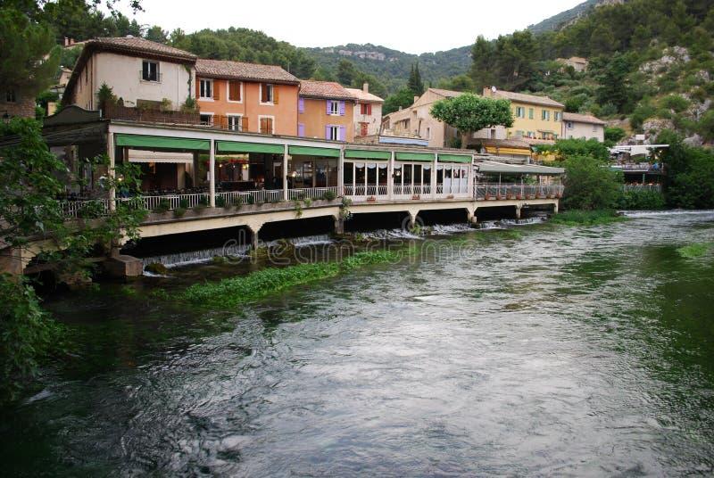 Fontaine de Vaucluse, Francia foto de archivo
