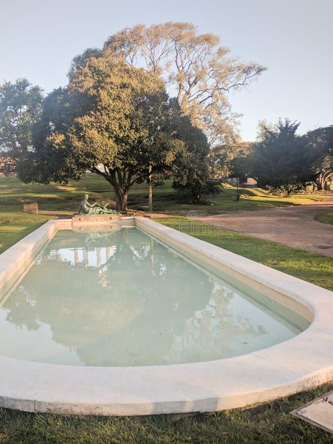 Fontaine de Venus Montevideo Uruguay images libres de droits