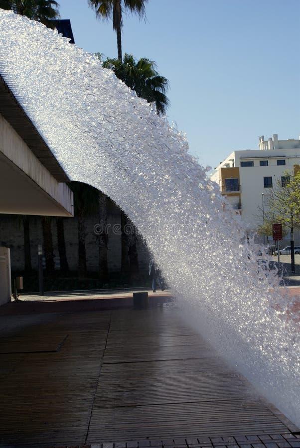 Fontaine de ville à Lisbonne photographie stock libre de droits