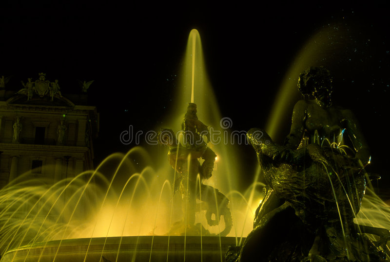 Fontaine des Naiads, Rome photographie stock