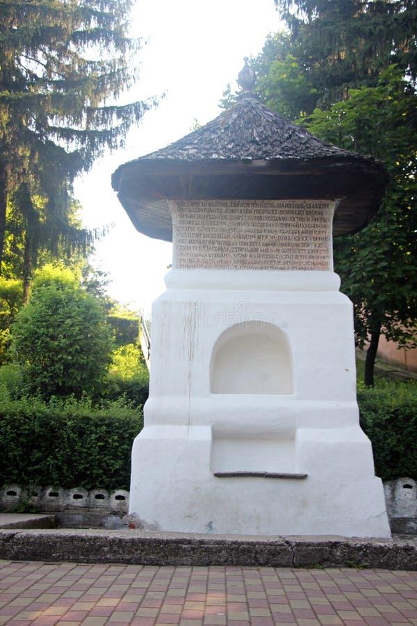 Fontaine du ` s de Manole en Curtea de Arges, Roumanie photographie stock