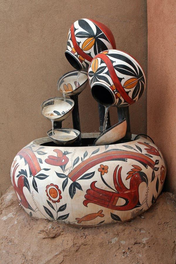 Fontaine du sud-ouest de poterie photos stock