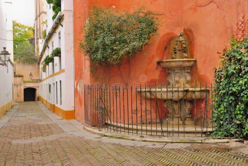 Fontaine Juderia image libre de droits